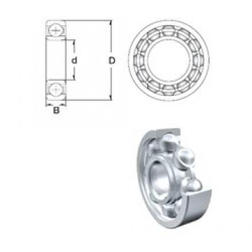 50 mm x 90 mm x 20 mm  ZEN 6210 deep groove ball bearings