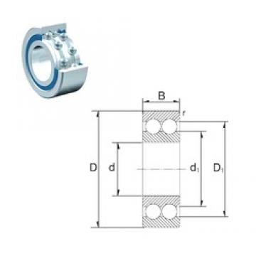 40 mm x 80 mm x 23 mm  ZEN S4208 deep groove ball bearings