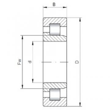 140 mm x 190 mm x 24 mm  ISO NJ1928 cylindrical roller bearings