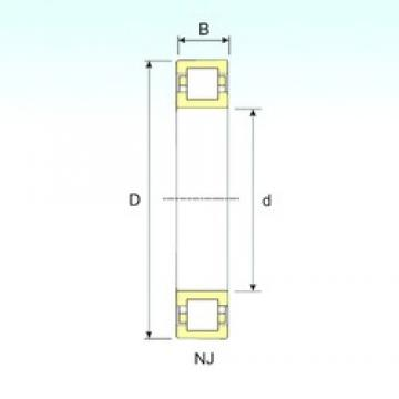 130 mm x 230 mm x 40 mm  ISB NUP 226 cylindrical roller bearings