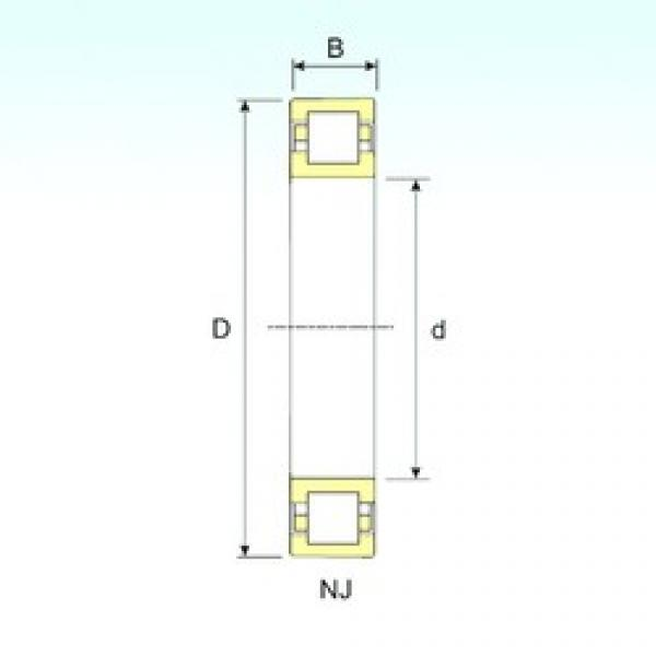 50 mm x 90 mm x 20 mm  ISB NUP 210 cylindrical roller bearings #1 image